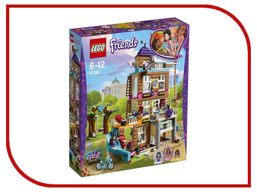цена Конструктор Lego Friends Дом дружбы 41340
