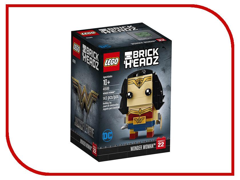 Конструктор Lego BrickHeadz Чудо-женщина 41599 конструктор конструктор забияка чудо лампочка 1283758