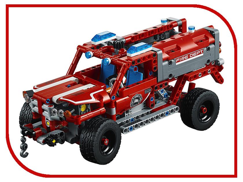 Конструктор Lego Technic Служба быстрого реагирования 42075 фрейлина немедленного реагирования лазарева м