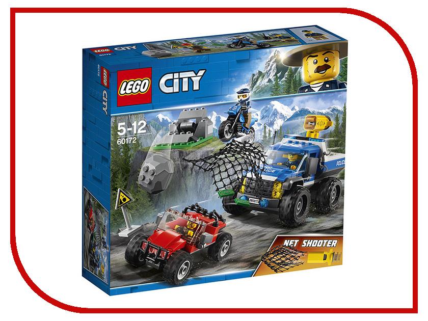 Конструктор Lego City Погоня по грунтовой дороге 60172 кирилл шелестов погоня