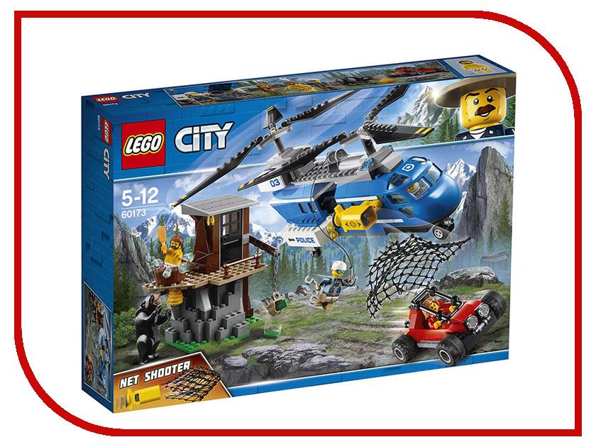 Конструктор Lego City Погоня в горах 60173 осень в горах
