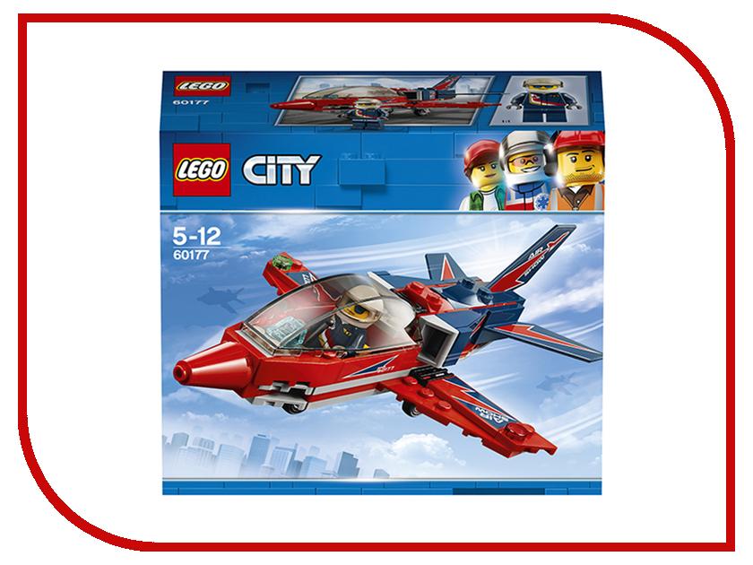 Конструктор Lego City Реактивный самолёт 60177 lego 31039 конструктор greator синий реактивный самолет