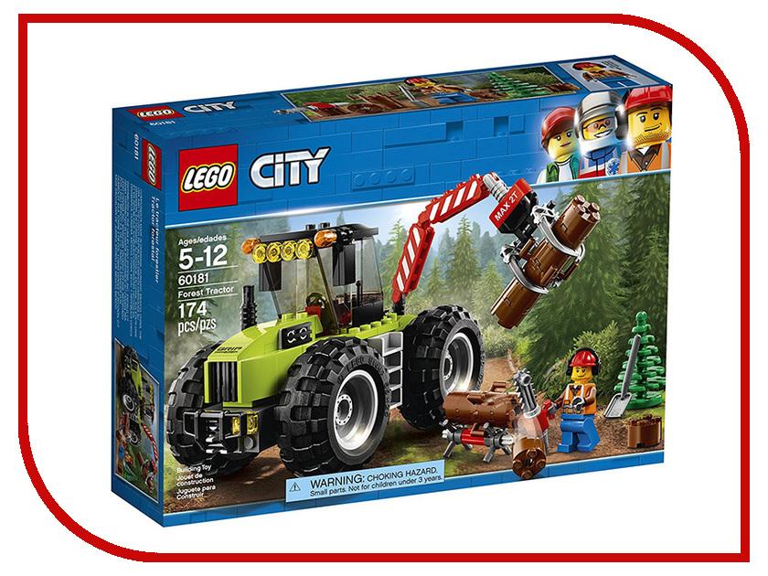 Конструктор Lego City Лесной трактор 60181 цена