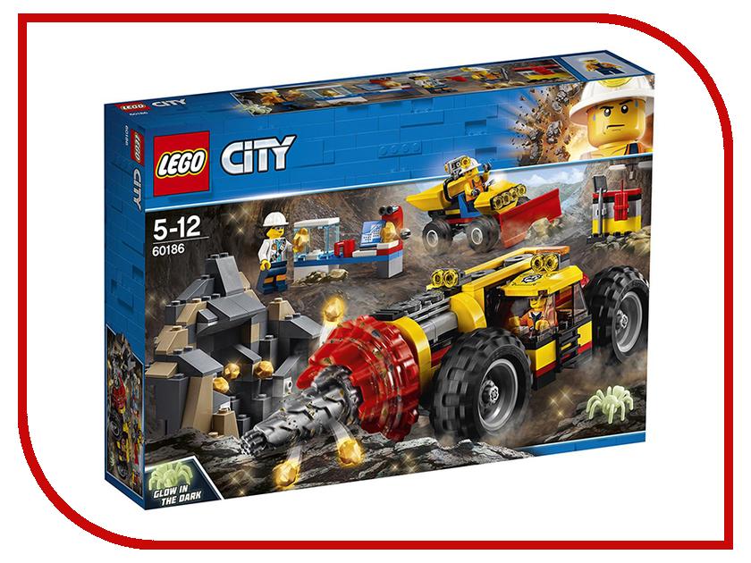 Конструктор Lego City Тяжелый бур для горных работ 60186 lego 31035