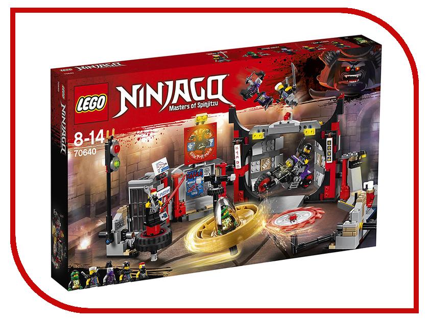 Конструктор Lego Ninjago Штаб-квартира Сынов Гармадона 70640 элитная трехкомнатная квартира москва купить