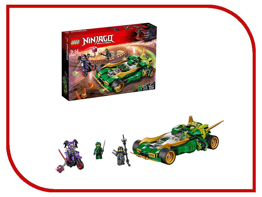 Конструктор Lego Ninjago Ночной вездеход ниндзя 70641 конструктор lego ninjago 70589 горный внедорожник