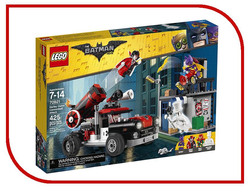 Конструктор Lego Batman Movie Тяжёлая артиллерия Харли Квинн 70921 конструктор lego batman movie химическая атака бэйна 70914