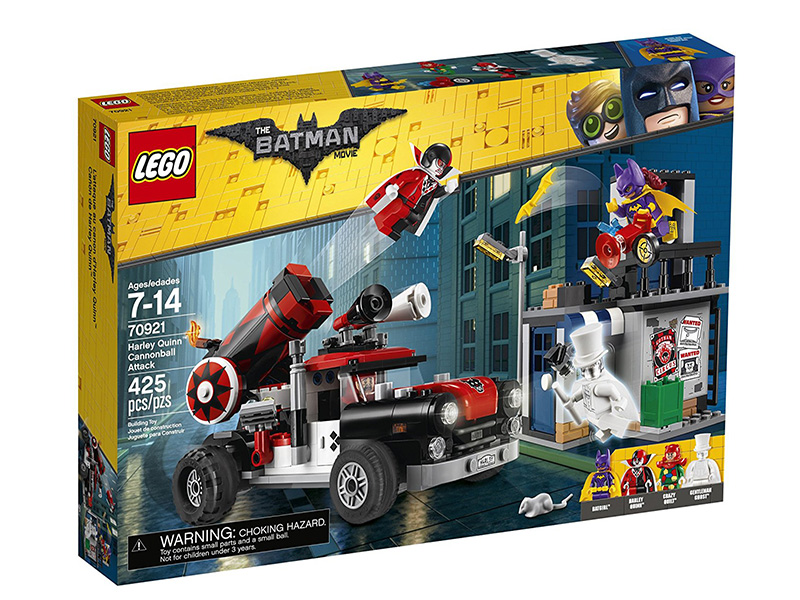 Конструктор Lego Batman Movie Тяжёлая артиллерия Харли Квинн 70921
