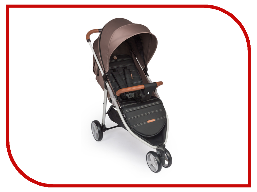 Коляска Happy Baby 92003 Ultima V2 Brown 4690624021657 детское автокресло happy baby skyler blue