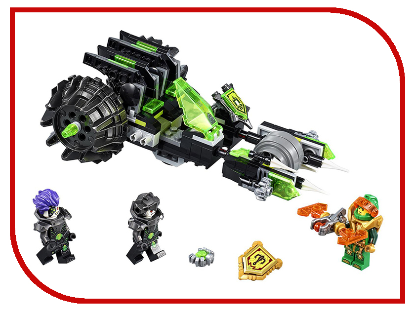 Конструктор Lego Nexo Knights Боевая машина близнецов 72002 артем каменистый практикантка  боевая
