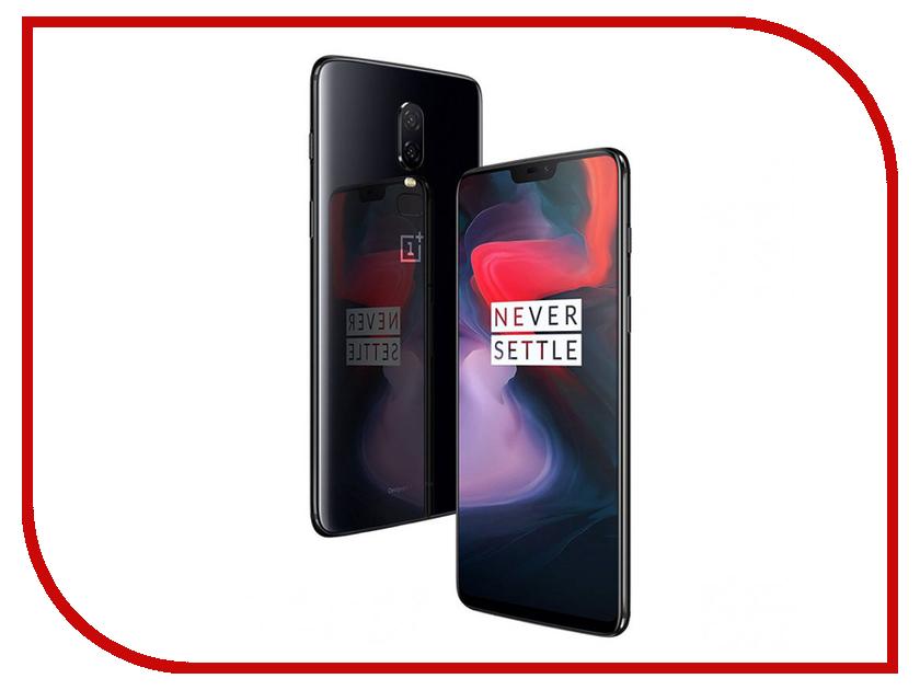 Сотовый телефон OnePlus 6 6/64GB чехол клип кейс oneplus karbon protective case для oneplus 6 темно серый [5431100044]
