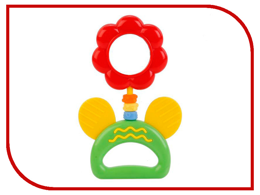 Погремушка Умка Цветок с зеркалом B176MR умка обучающий планшет winx club 60 программ умка