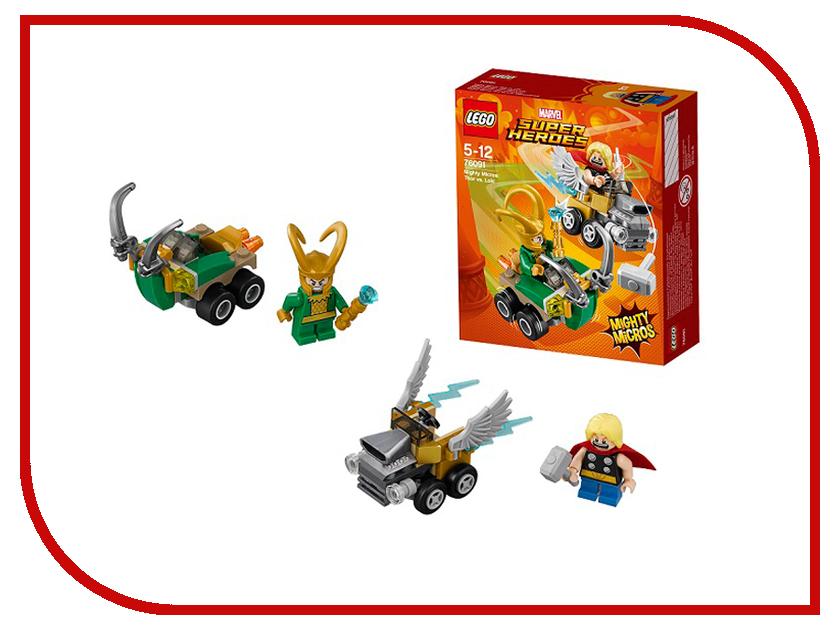 Конструктор Lego Super Heroes Mighty Micros Тор против Локи 76091 конструктор lego juniors 10721 железный человек против локи