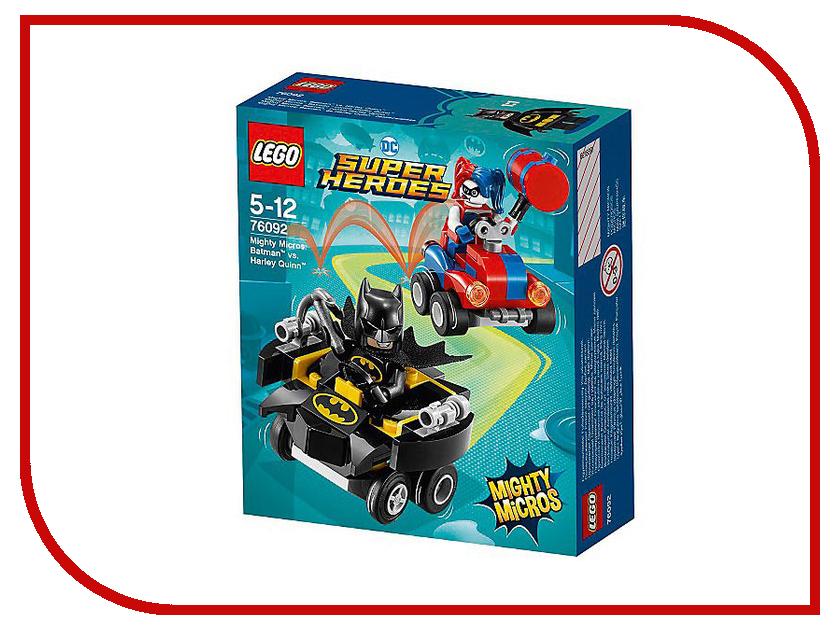 Конструктор Lego Super Heroes Mighty Micros Бэтмен против Харли Квин 76092 конструктор lego super heroes 76055 бэтмен убийца крок