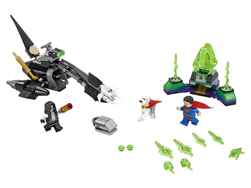 цена Конструктор Lego Super Heroes Супермен и Крипто объединяют усилия 76096 онлайн в 2017 году