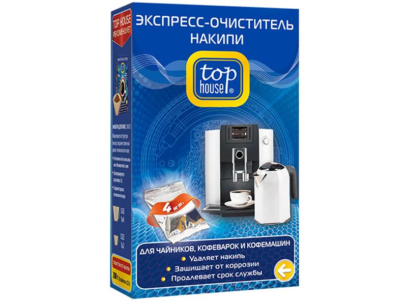 Экспресс-очиститель накипи Top House 4шт 4660003392852