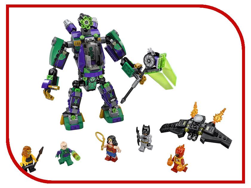 Конструктор Lego Super Heroes Сражение с роботом Лекса Лютора 76097 lego 31035