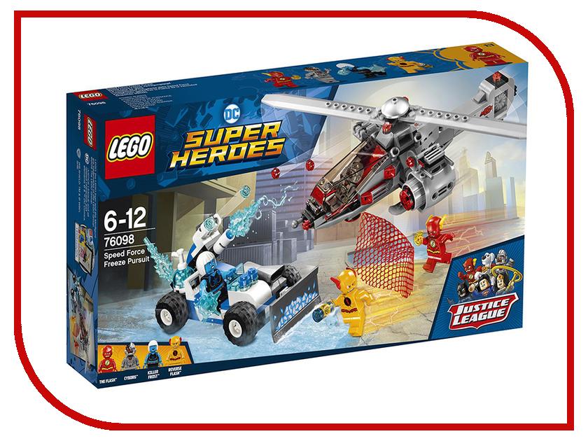 Конструктор Lego Super Heroes Скоростная погоня 76098 lego super heroes конструктор скоростная погоня 76098