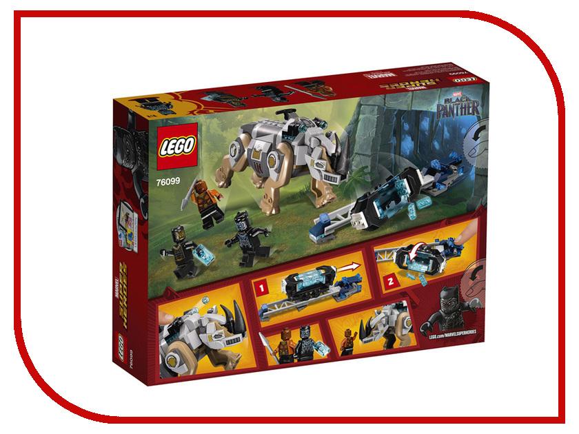 Конструктор Lego Super Heroes Поединок с Носорогом 76099 цена