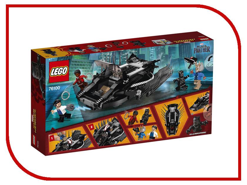 Конструктор Lego Super Heroes Нападение Королевского Когтя 76100 конструктор lego super heroes нападение с воздуха 76087 l