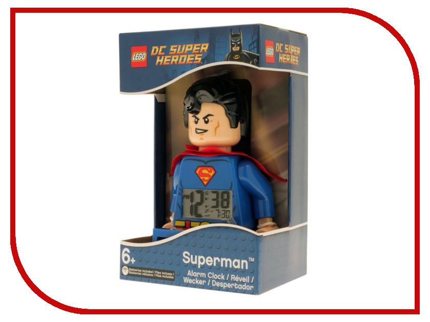 Часы Lego DC Super Heroes Супермен 9005701 lego batman 2 dc super heroes [pc цифровая версия] цифровая версия