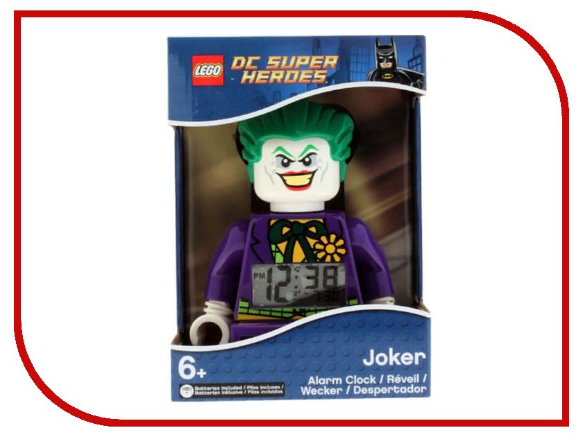 Часы Lego DC Super Heroes Джокер 9007309 ночники lego игрушка минифигура фонарь lego dc super heroes супер герои dc joker джокер на подставке