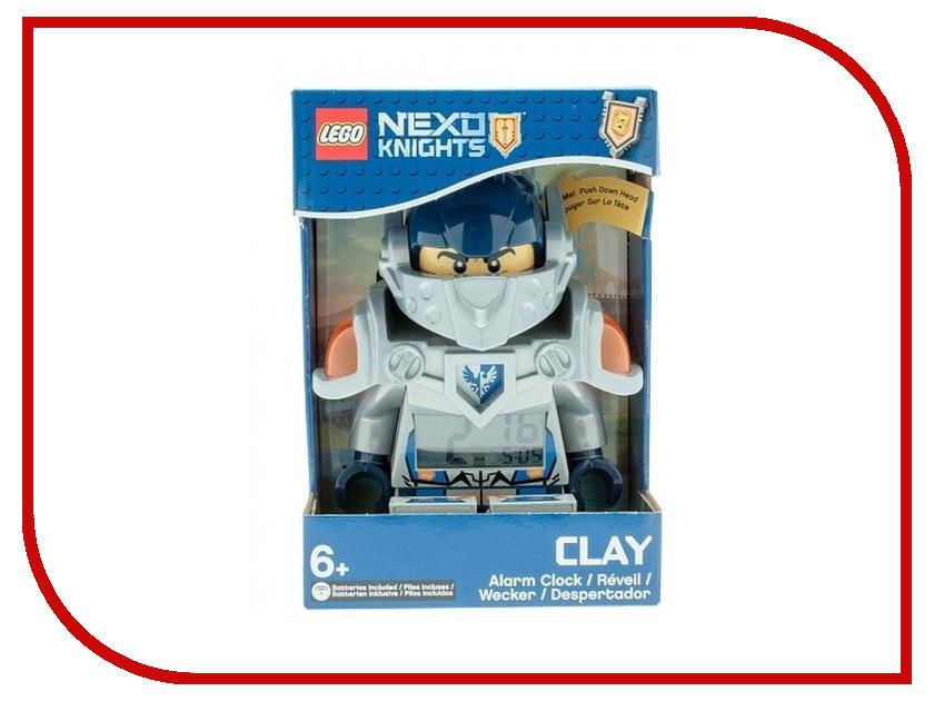 Часы Lego Nexo Knights Clay 9009419 часы наручные lego часы наручные аналоговые lego nexo knights с минифигурой clay на ремешке