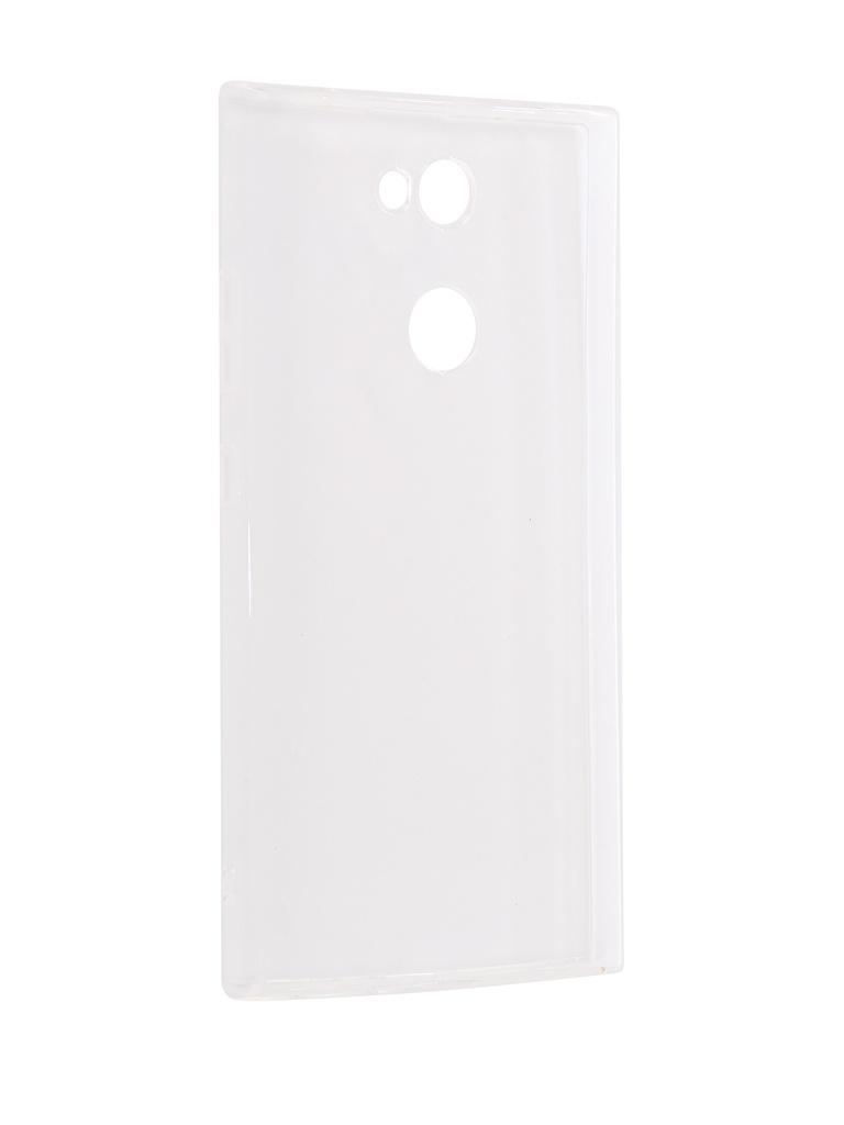 Аксессуар Чехол iBox для Sony Xperia L2 Crystal Silicone Transparent аксессуар чехол накладка sony xperia m5 ibox crystal transparent
