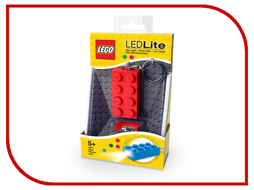 Брелок Lego LGL-KE5-R Red