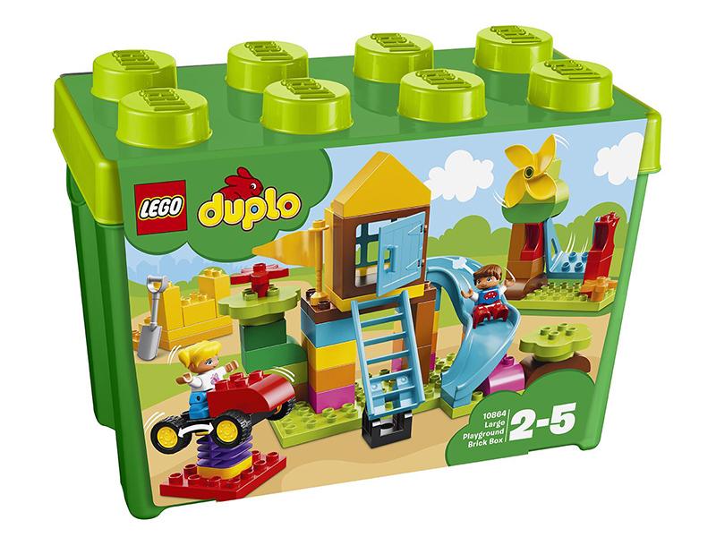 Конструктор Lego Duplo Большая игровая площадка 10864 playgarden игровая площадка original castle с пентхаусом