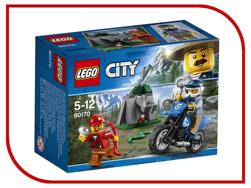 Конструктор Lego City Погоня на внедорожниках 60170 кирилл шелестов погоня