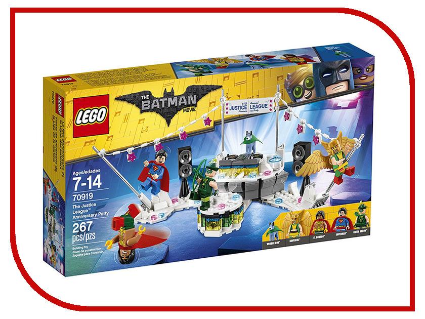 Конструктор Lego Batman Movie Вечеринка Лиги Справедливости 70919 lego education 9689 простые механизмы