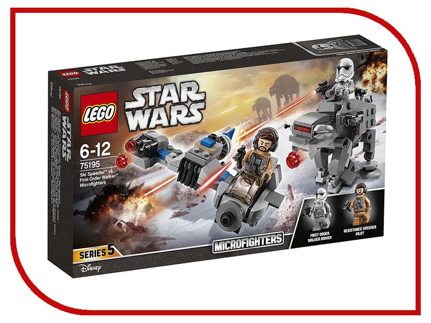 Конструктор Lego Star Wars Бой пехотинцев Первого Ордена против спидера на лыжах 75195 конструктор lego star wars бой пехотинцев первого ордена против спидера на лыжах 75195