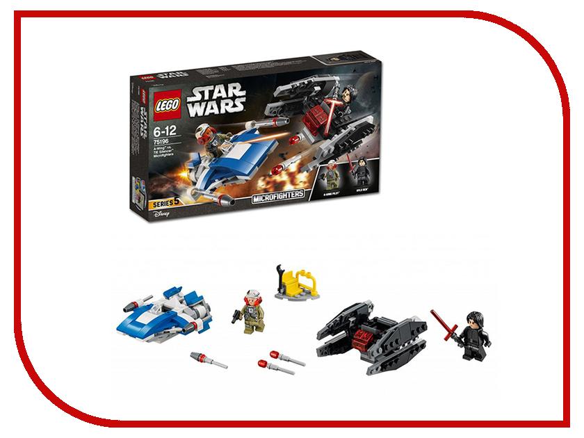 Конструктор Lego Star Wars Истребитель типа A против бесшумного истребителя СИД 75196 lego конструктор сид дарта вейдера против a wing star wars 75150