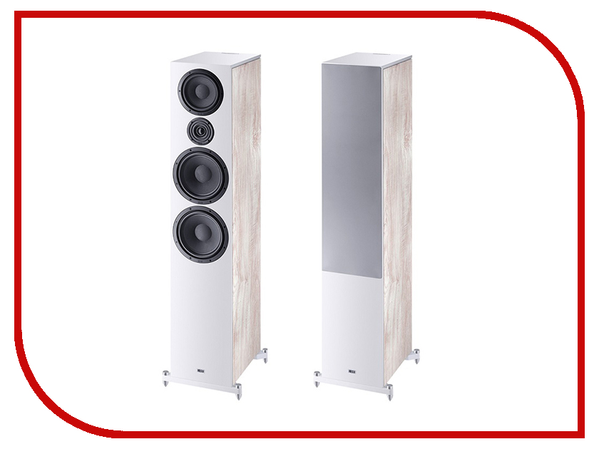 Колонки Heco Aurora 1000 Ivory White акустика центрального канала heco music style center 2 piano white ash decor white
