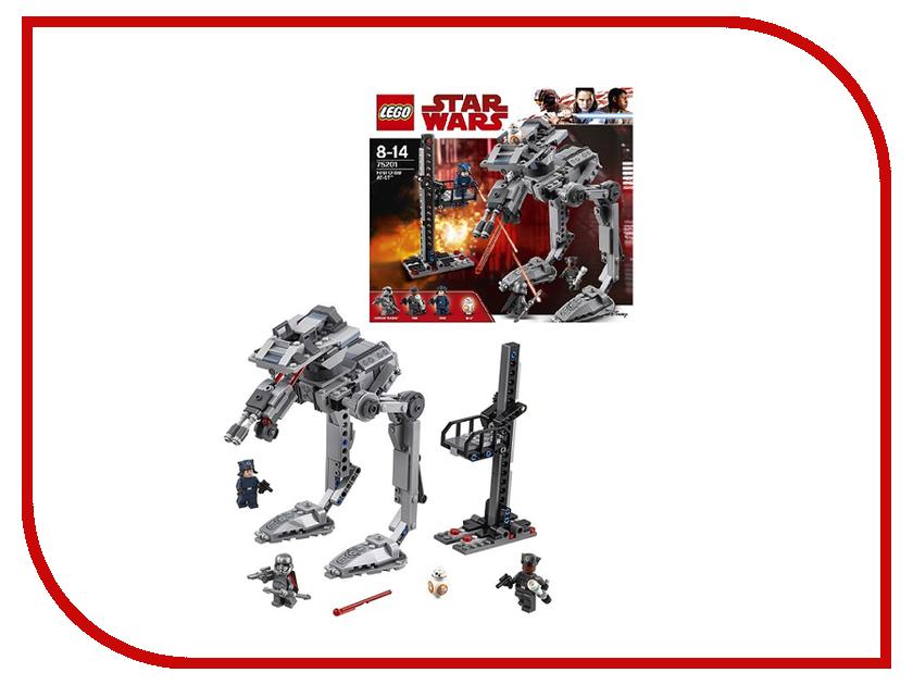 Конструктор Lego Star Wars Вездеход AT-ST Первого Ордена 75201 конструктор lepin star wnrs шагающий вездеход at te капитана рекса 1022 дет 05032