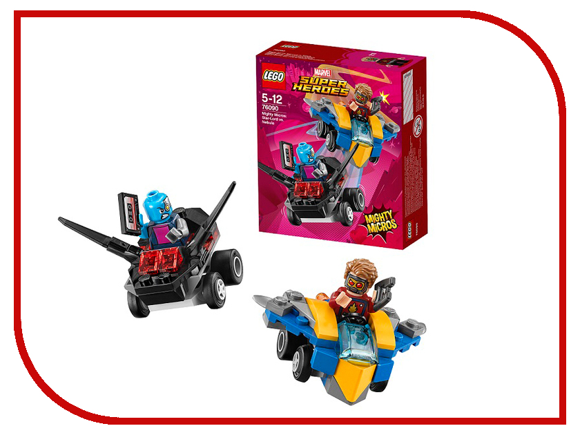 Конструктор Lego Super Heroes Mighty Micros Звёздный Лорд против Небулы 76090 lego lego super heroes mighty micros звёздный лорд против небулы