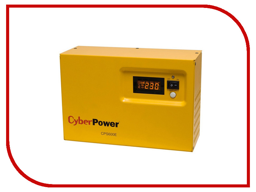 Источник бесперебойного питания CyberPower CPS 600E автокресло baby care rubin