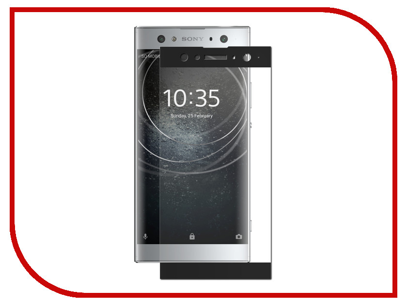 Аксессуар Защитное стекло для Sony Xperia XA2 Ultra Red Line Full Screen 3D Tempered Glass Black УТ000015060 industrial display lcd screenlp116wh2 tlc1 new original package 11 6 inch led ultra thin screen a perfect screen