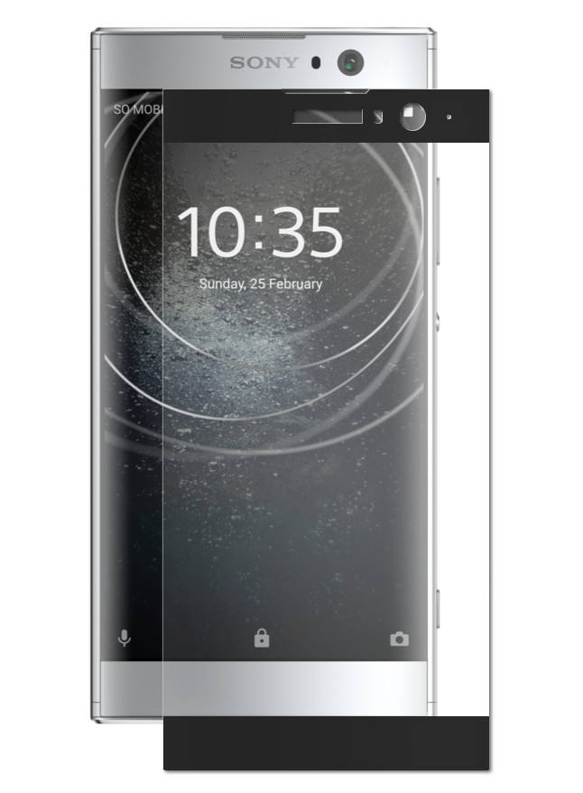 Аксессуар Защитное стекло Red Line для Sony Xperia XA2 Full Screen 3D Tempered Glass Black УТ000015061 цена и фото