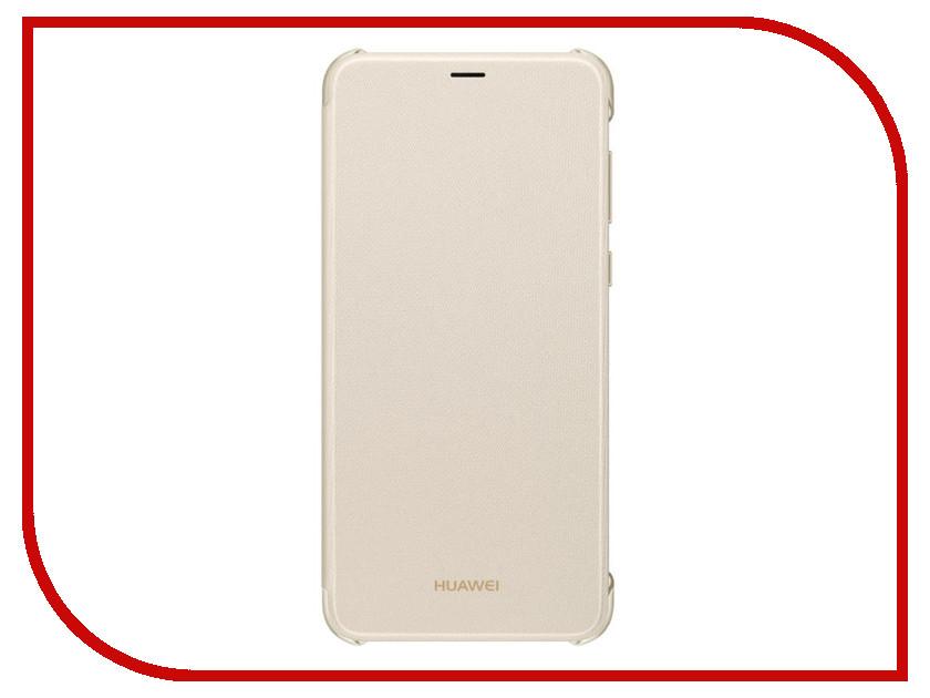 Аксессуар Чехол Huawei P Smart Gold 51992414 аксессуар чехол huawei p9 single sim cojess ultra slim экокожа флотер gold