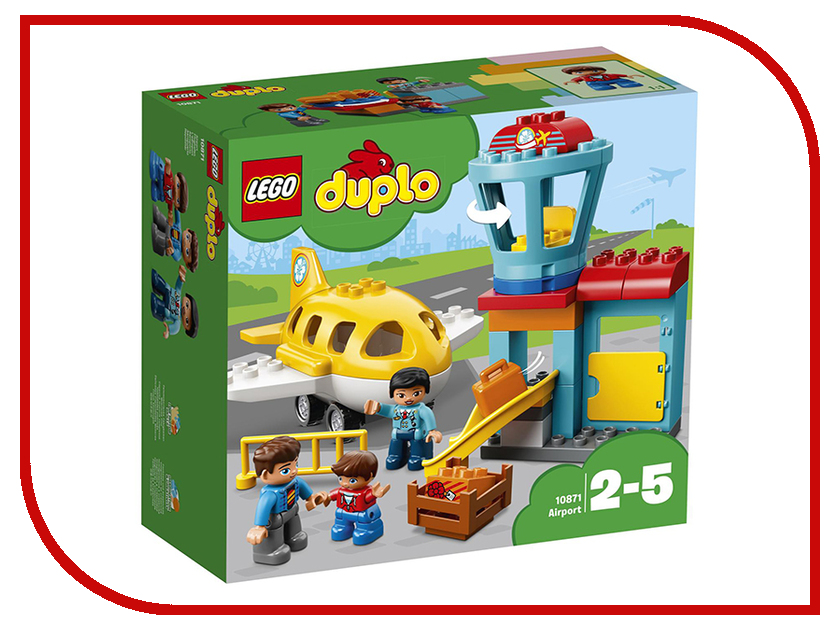 Конструктор Lego Duplo Аэропорт 10871 children s sets lassie for girls 8631960 winter track suit kids children clothes warm