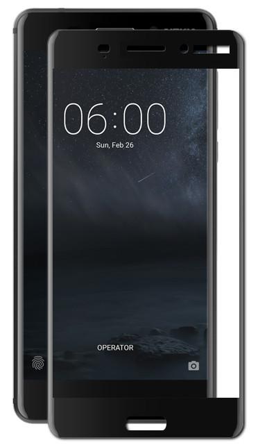 Аксессуар Защитное стекло Red Line для Nokia 6 2018 Full Screen Tempered Glass Black УТ000014520