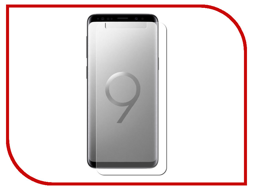 Аксессуар Защитная пленка для Samsung Galaxy S9 Red Line TPU Full Screen УТ000014588 аксессуар защитная пленка для samsung galaxy a8 2018 а530 red line full screen tpu ут000013961
