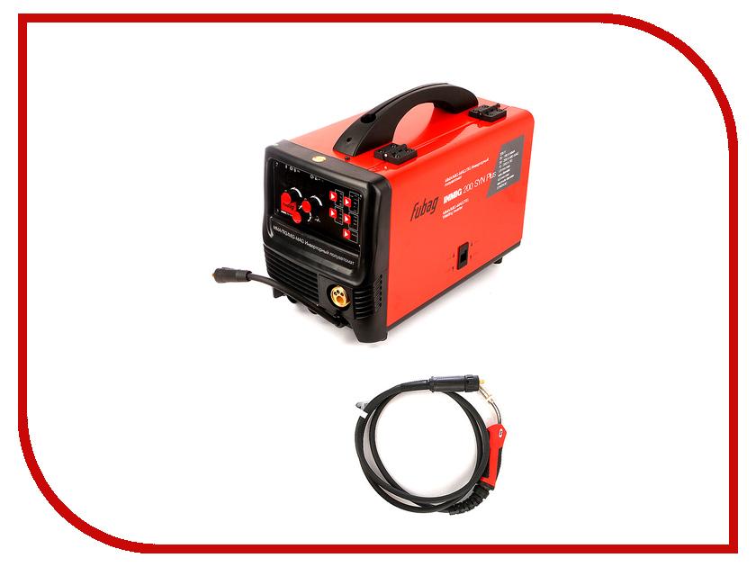 Сварочный аппарат Fubag Inmig 200 SYN Plus с горелкой FB 250 сварочный инвертор fubag iq 200