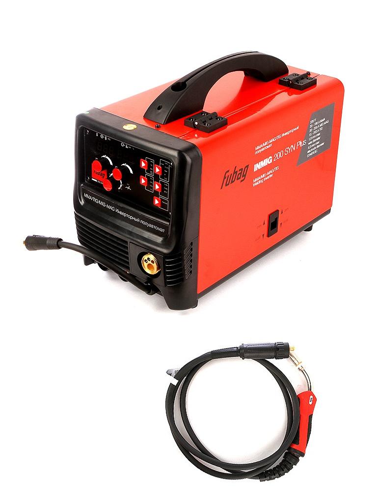 Сварочный аппарат Fubag Inmig 200 SYN Plus с горелкой FB 250