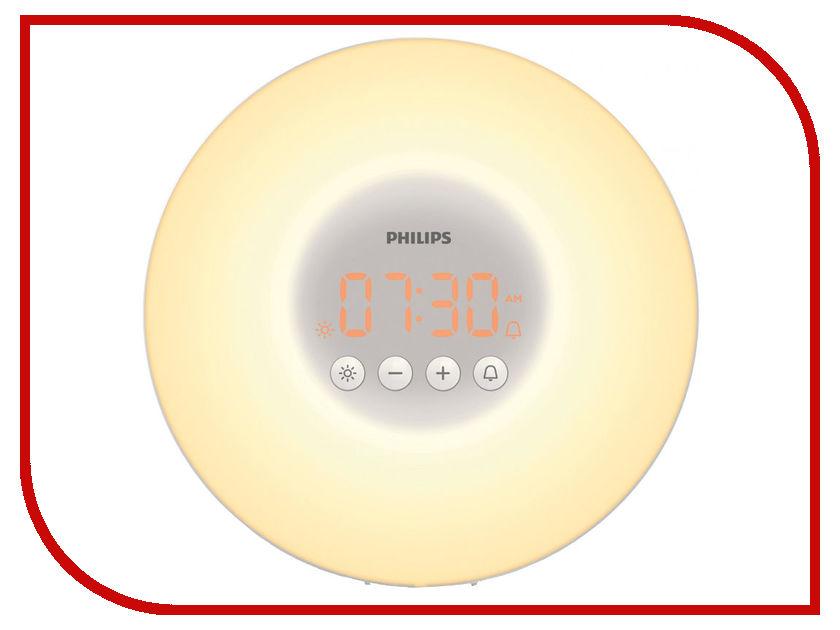 Часы Philips Wake-up Light HF3500/01 сетчатый xavax нера hf 01