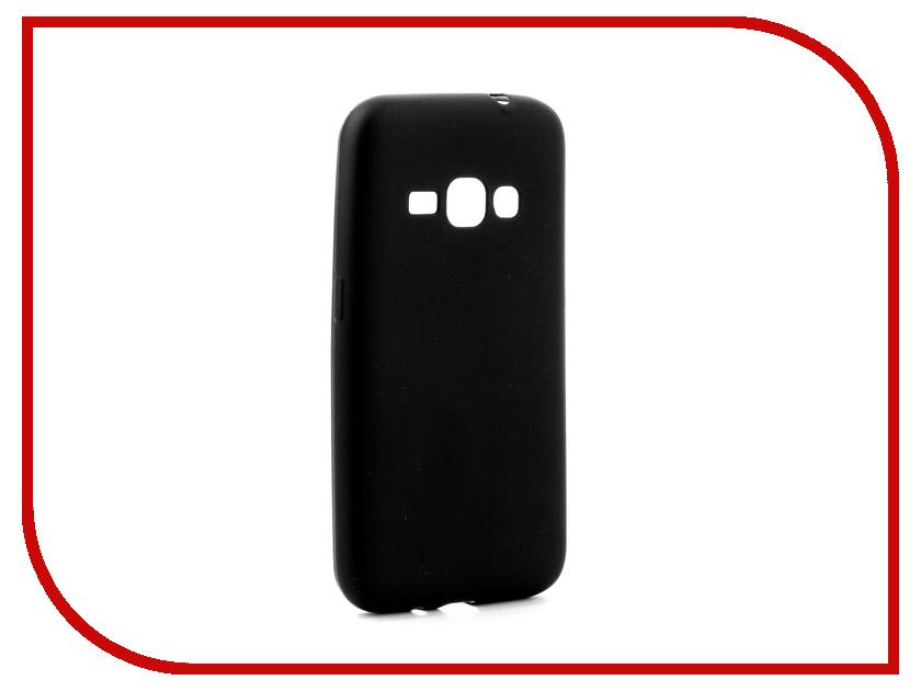 Аксессуар Чехол Samsung Galaxy J1 2016 J120 Gurdini Soft Touch Silicone Black аксессуар чехол samsung galaxy a7 2017 with love moscow silicone russia 5090