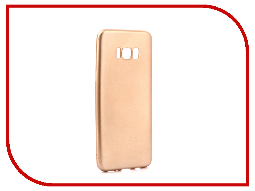 Аксессуар Чехол Samsung Galaxy S8 Plus Gurdini Soft Touch Silicone Champagne аксессуар чехол samsung galaxy a7 2017 with love moscow silicone russia 5090