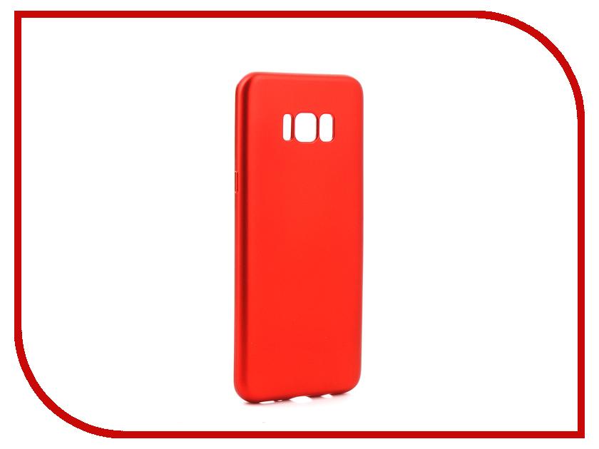 Аксессуар Чехол Samsung Galaxy S8 Plus Gurdini Soft Touch Silicone Red samsung galaxy s plus i9001